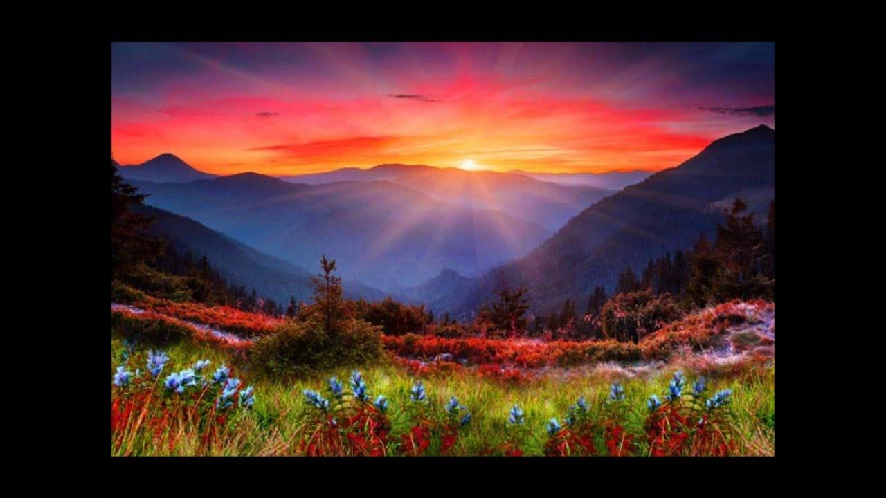 Fall Mountain Scenery Wallpaper Atardeceres De Monta 241 A Youtube