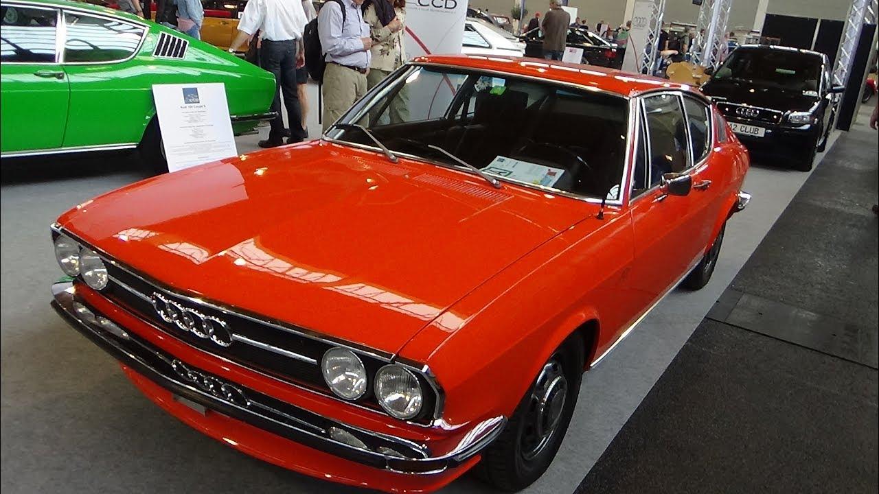 1970 - 1976 Audi 100 Coupé S - Klassikwelt Bodensee 2017 - YouTube