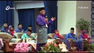Ahli UMNO Perlu Sepakat Hadapi Rintangan Politik kata MB Pahang Dato' Sri Adnan Yaakob