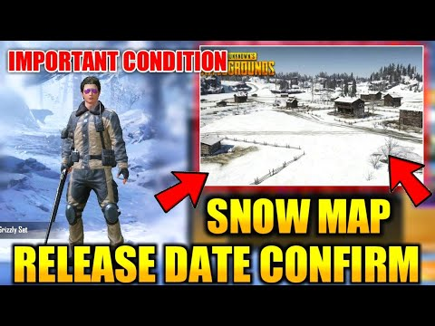 Snow Map Release Date Confirm | One Condition For New Map | PUBG Mobile