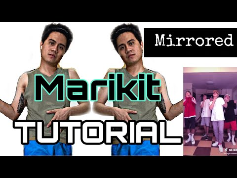 TikTok Trend - MARIKIT Dance Tutorial (MIRRORED) Step by Step