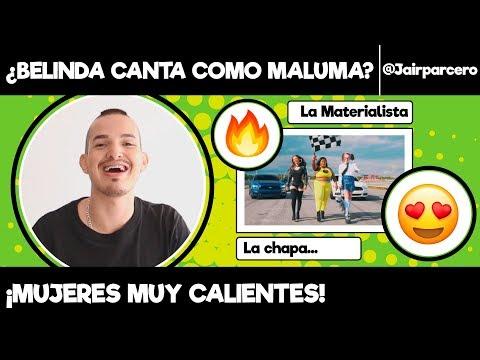 """COLOMBIANO REACCIONA A """"LA CHAPA QUE VIBRAN"""" DE BELINDA Y LA MATERIALISTA"""