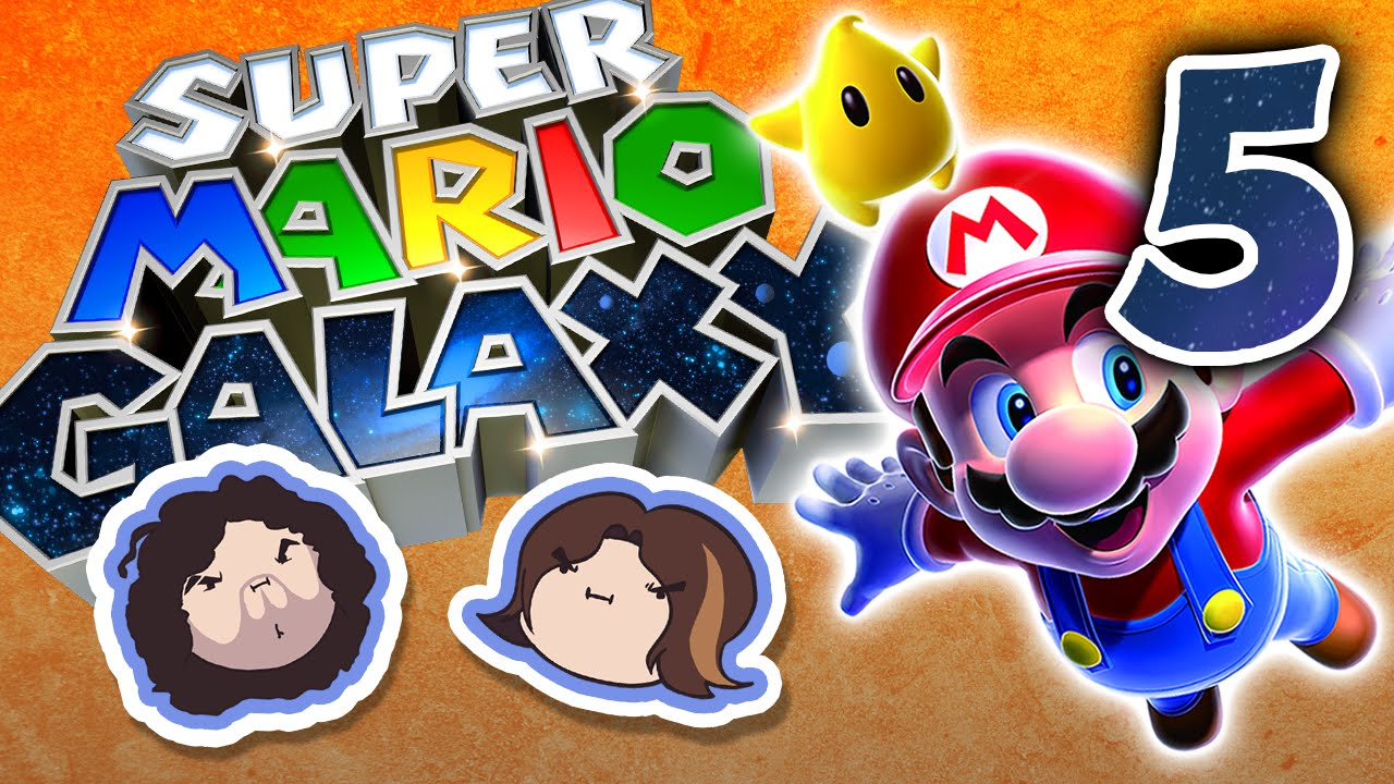 Super Mario Galaxy: Bee Yourself - PART 5 - Game Grumps