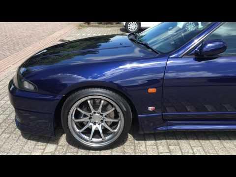 Walkaround video - My freshly painted Nissan Skyline R33 GTR V-SPEC BN6