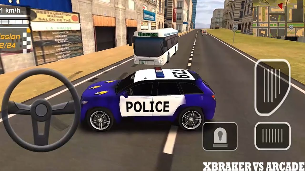 Police Drift Car Driving Special Edition   Blue Police Car Skin - Android GamePlay FHD