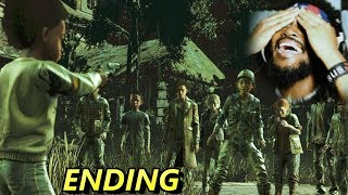 AJ HOW COULD YOU DO THAT!? THIS ENDING.. | The Walking Dead: The Final Season (Part 2)