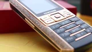Điện thoại Samsung Ego S9402 mạ vàng hồng và đính kim cương tại Tp HCM