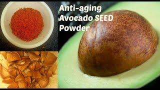 Avocado SEED Powder   Full of Anti-aging nutrients & Antioxidants  Healthcare  