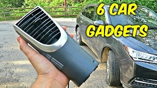 6 Car Gadgets put to the Test