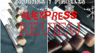 HAUL Brochas y Pinceles #LOWCOST de Aliexpress #REVIEW