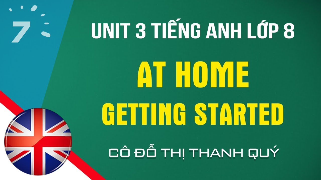 Unit 3: Getting Started trang 27 SGK Tiếng Anh lớp 8| HỌC247