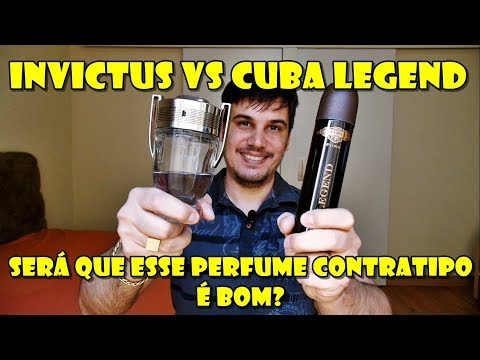 PERFUME INVICTUS vs CUBA LEGEND - Resenha Comparativa