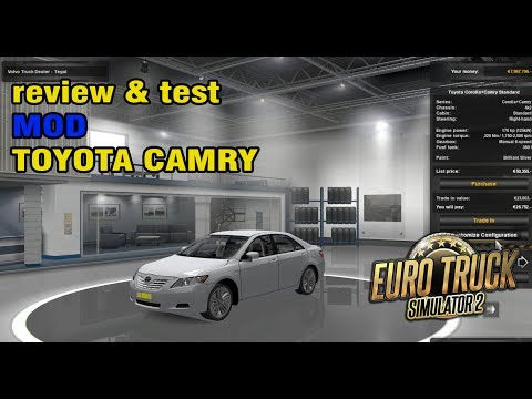[Review] Toyota Camry ♥ ETS2 Mod Indonesia