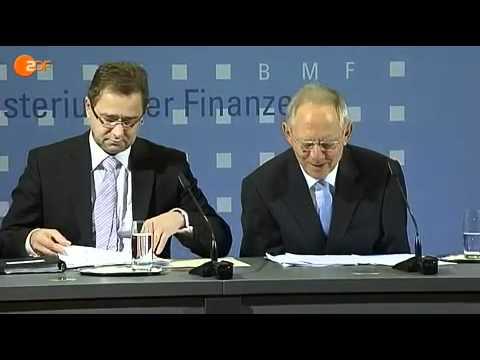 Schäuble: Warten auf Herrn Offer! Ich habe Ihnen vor.....  Scherbenhaufen Bananenrepublik