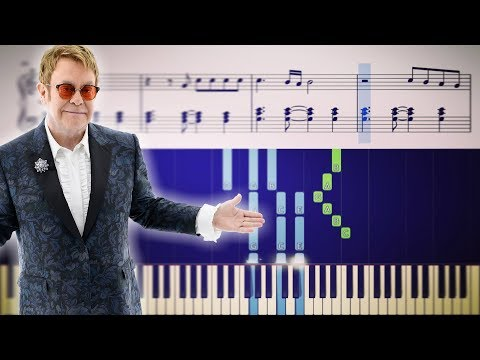 Bennie And The Jets Elton John - Piano Tutorial + SHEETS
