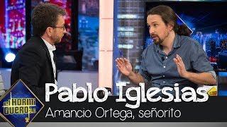 Pablo Iglesias sobre Amancio Ortega: