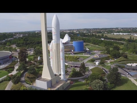 Out of this world: France 24's trip into outer space