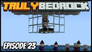 Raid Farm Fixing And Storm Summoning! - Truly Bedrock (Minecraft Survival Let's Play) Episode 23