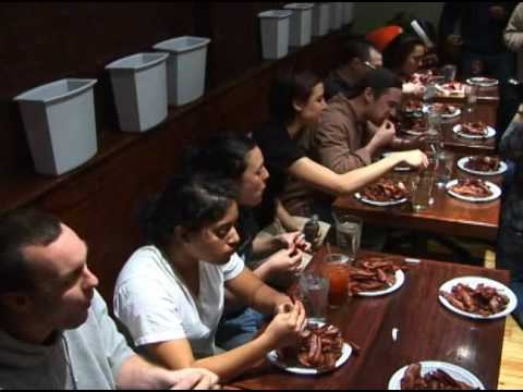 Huge Bacon Eating Contest In Boston - Huge Bacon Eating Contest In Boston