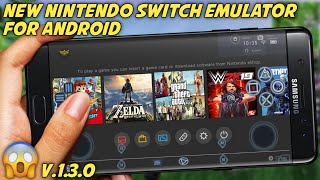 Download Nintendo Switch EMULATOR For Android || With Play Fortnite GTA 5 2K19 On Android ||