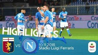 HL - Genoa V Napoli 1-2