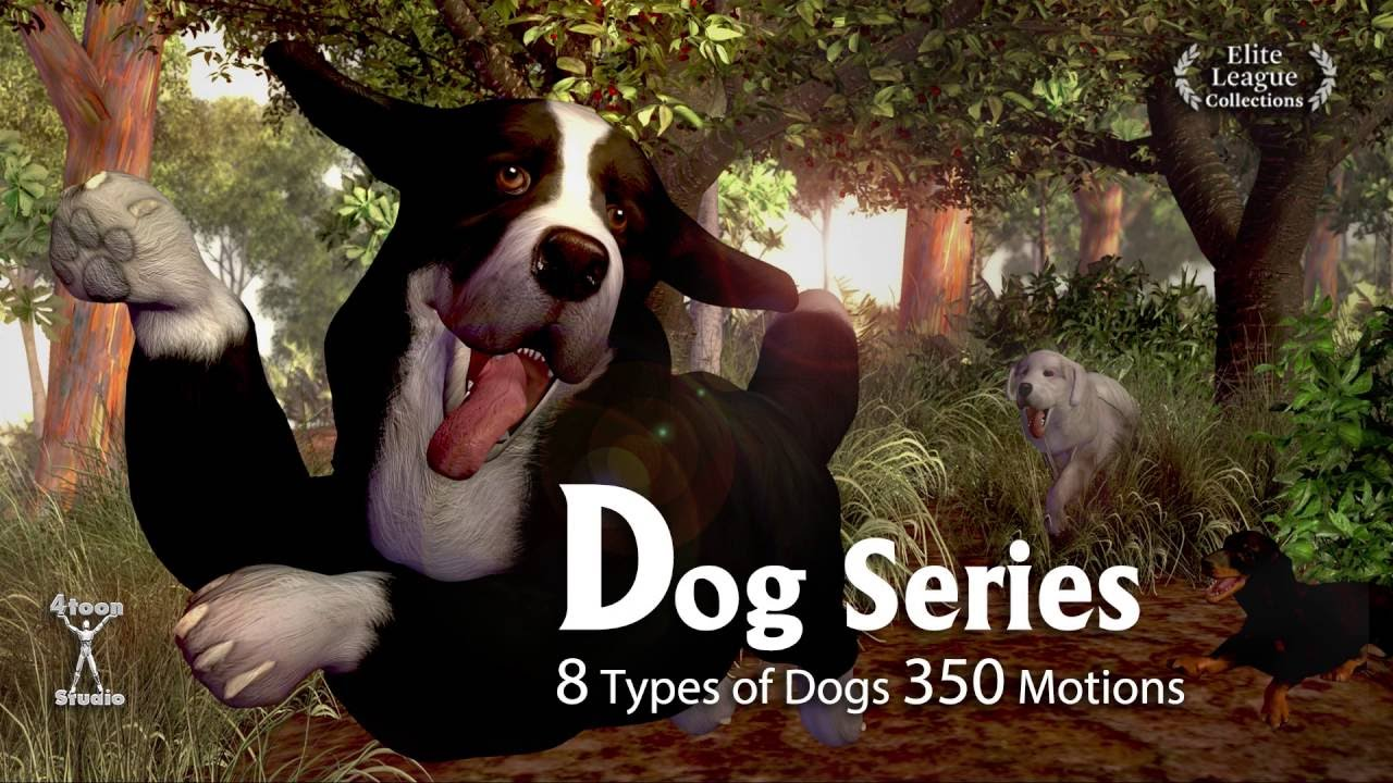 IClone 3D Animation Animals Video