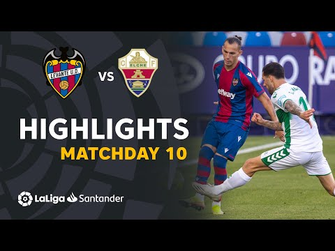 Levante Elche Goals And Highlights