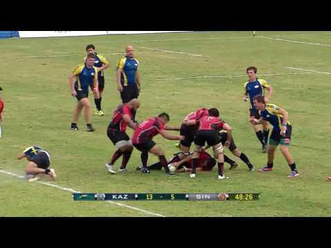 ARC 2015  Kazakhstan vs Singapore 2nd Half