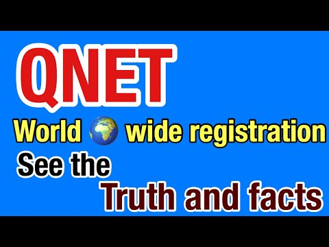 QNET world wide registration it's a good company explain in telugu
