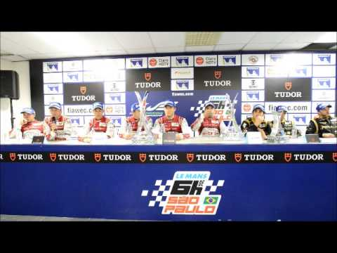 6 Hours of Sao Paulo Post Race Press Conference