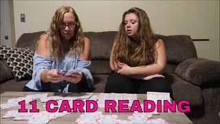 CELESTIAL CROSS CARD READING