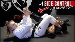4 BJJ Submissions From Side Control
