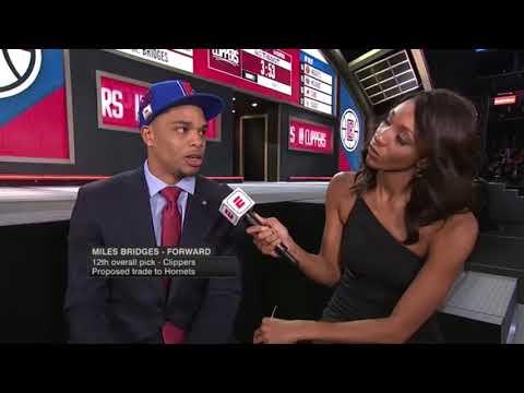 Miles Bridges   Number 12 Overall Pick 2018 NBA Draft