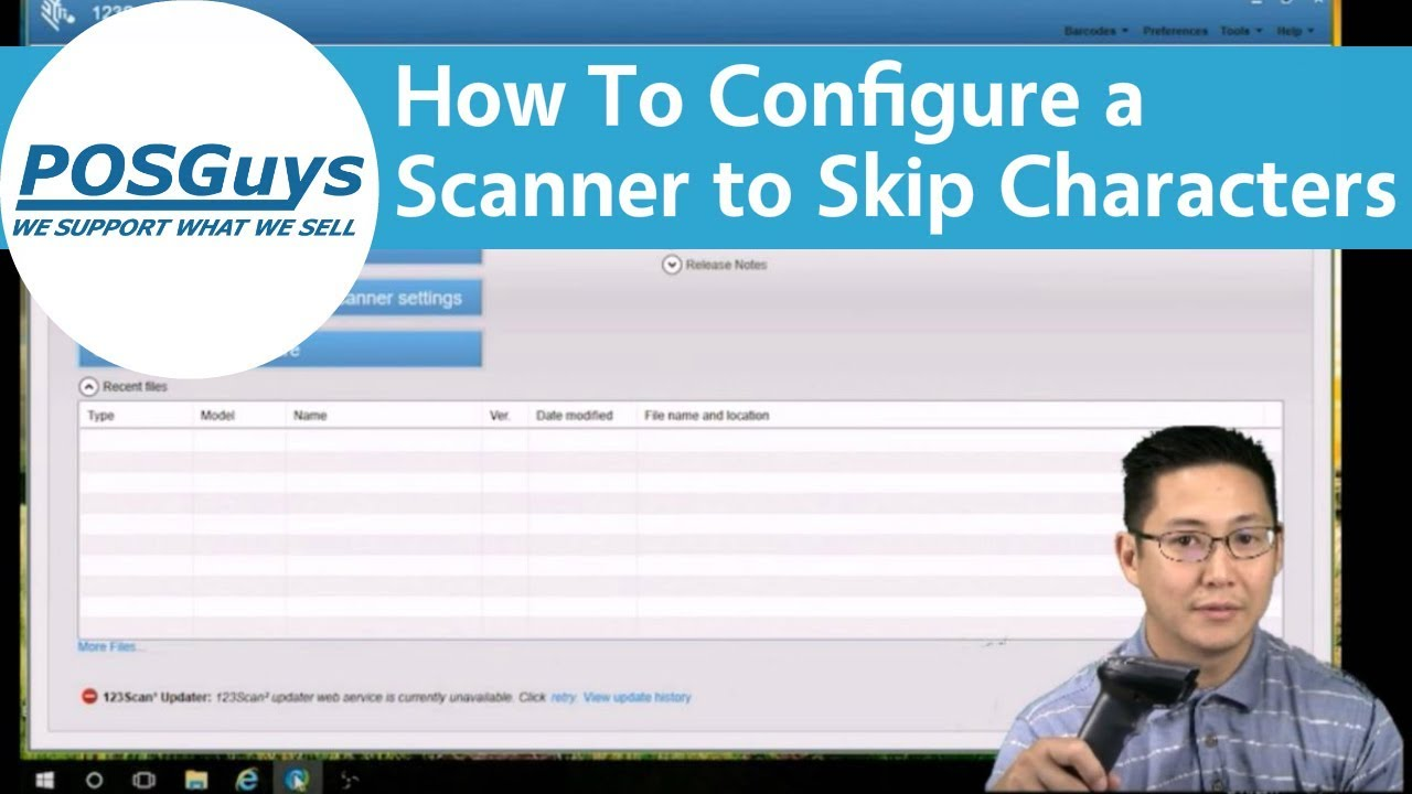 POSGuys How To: Configure a Barcode Scanner to Skip Character Patterns