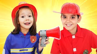 Firefighters Song for Kids - Fire Truck Song  | Kids Songs