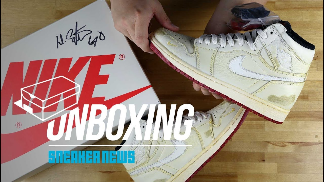 1bd6b29727b8 Unboxing Nigel Sylvester Air Jordan 1 - YouTube