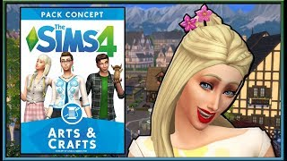 Amazing FAN-MADE Arts & Crafts Pack Concept! | The Sims 4