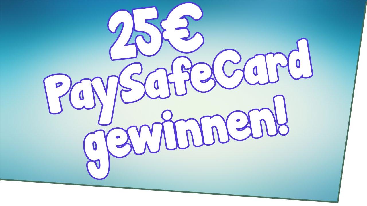 25€ Paysafecard Kostenlos