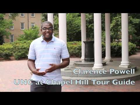 Welcome to College visits UNC at Chapel Hill