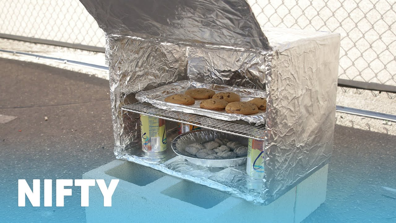 How To Turn A Cardboard Box Into An Outdoor Oven - YouTube
