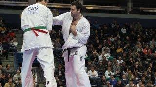 【新極真会】全ヨーロッパ大会2011   重量級 2回戦 ルーカス・クビリウ...