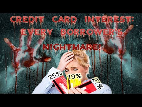 Credit Card Interest: Every Borrower's Nightmare, Every Bank's Dream | KeAmber Vaughn