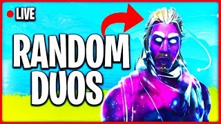 BIRTHDAY STREAM // Fortnite Random Duos & Squad Games with SUBSCRIBERS (Fortnite Battle Royale Live)