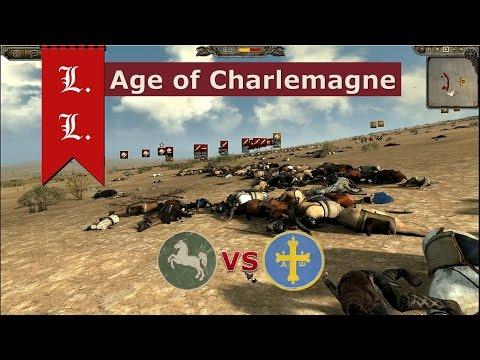 Attila total war - Age of Charlemagne - 1vs1 Westphalia vs Kingdom of Asturias (#2) |