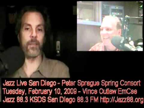 Peter Sprague Does The Jazz Live Interview - Tuesday, February 10, 2009