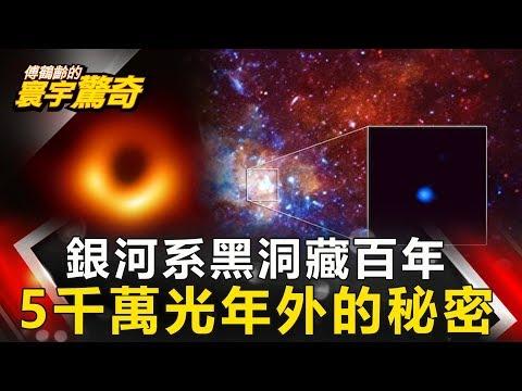 【傅鶴齡寰宇驚奇】銀河系黑洞藏百年 5千萬光年外的秘密 網路版關鍵時刻 20190618