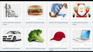 How to get free Unlimited Stock PNG image for Graphic Design