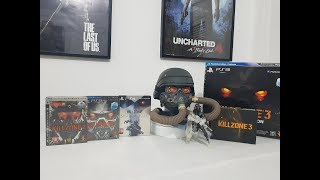 Killzone 2/3/4 Steelbook Editions Collection Ps3/Ps4 unboxing