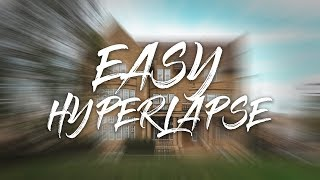 I Found The EASY (LAZY) Way To Do A Gimbal Hyperlapse!