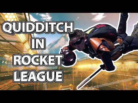 QUIDDITCH in Rocket League!! thumbnail